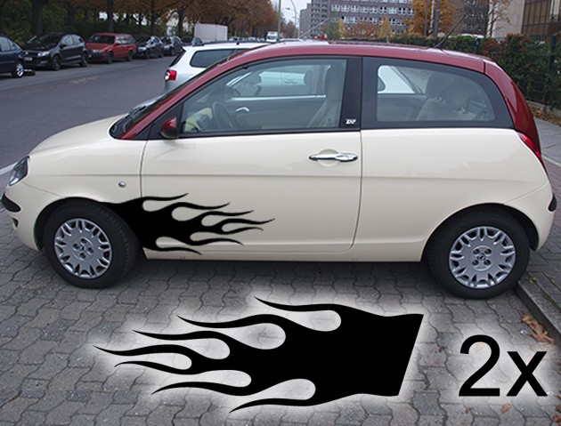 Autotattoo Flamme 007