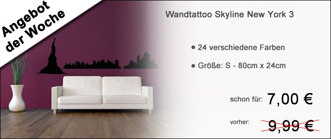 Banner Skyline New York 3 Angebot