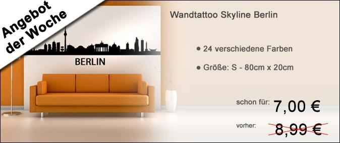 Banner Skyline Berlin Angebot