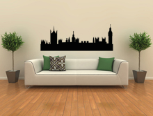 Wandtattoo Skyline London Variante 2