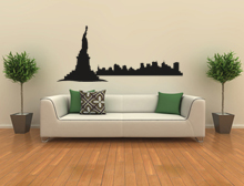 Wandtattoo Skyline New York Variante 1