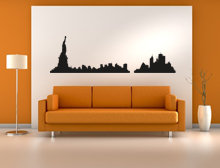 Wandtattoo Skyline New York Variante 2