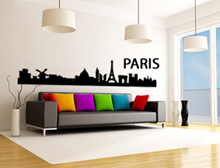 Wandtattoo Skyline Paris Variante 1